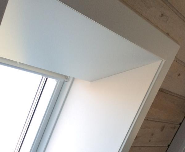 lysning ovenlys vindue